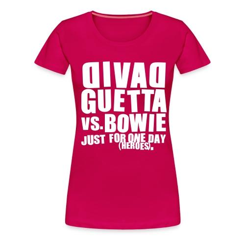 vs bowie - T-shirt Premium Femme