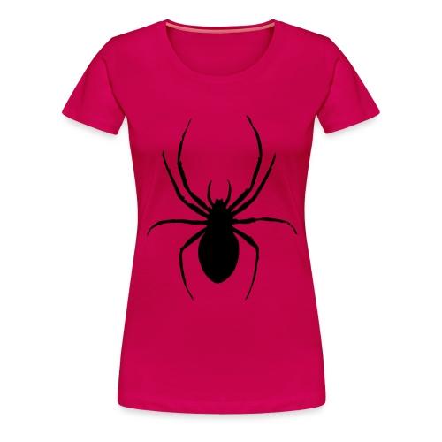 Spinne - Frauen Premium T-Shirt
