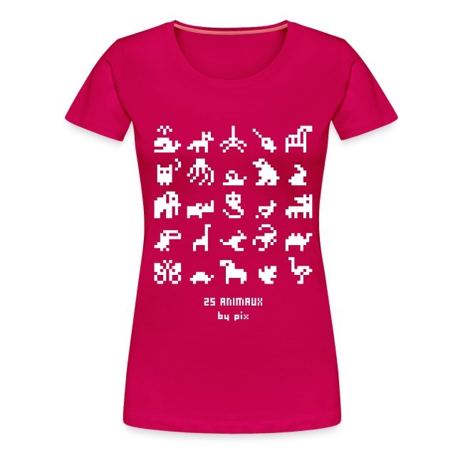 25 animaux Tee shirts