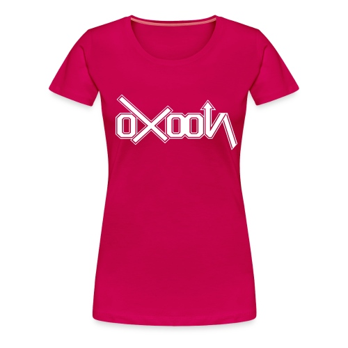 oxoon logo finition - T-shirt Premium Femme