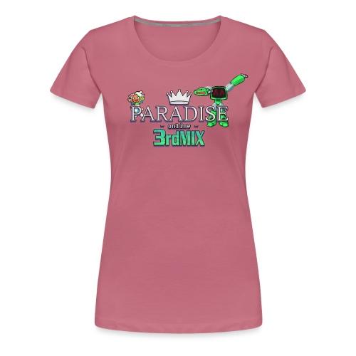 Paradise Online: 3rd Mix - Vrouwen Premium T-shirt