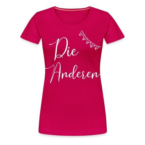 JGA Abschied passendes Shirt zur Braut - Frauen Premium T-Shirt