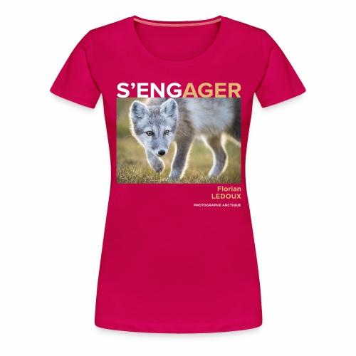 1 Achat = 1 Don à l'association ArcticArtsProject - T-shirt Premium Femme