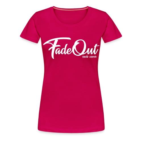 FadeOut Rock 'n' White - Frauen Premium T-Shirt