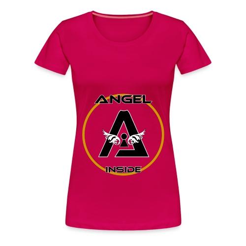 ANGEL INSIDE-01 - Maglietta Premium da donna