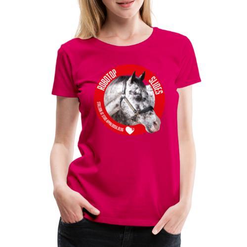 ROBOTOP SLIDES - Maglietta Premium da donna