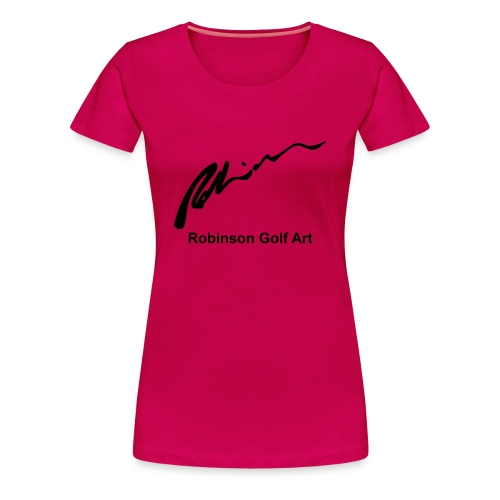 Robinson Black Logo - Women's Premium T-Shirt