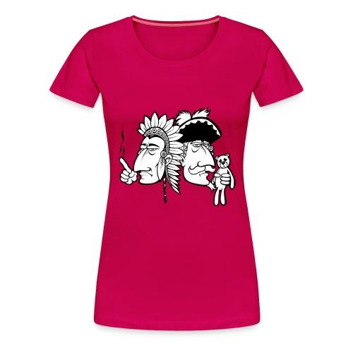 shirt ohne png - Frauen Premium T-Shirt