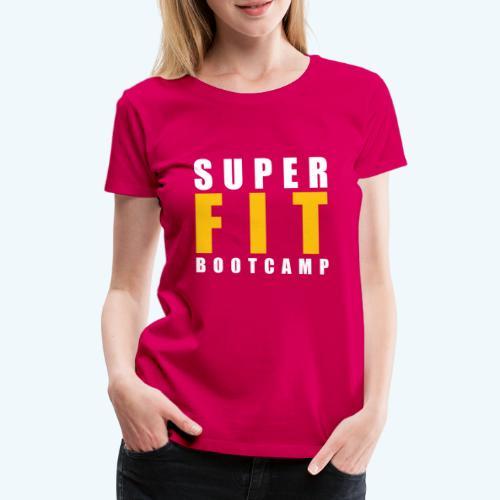Superfit Logo on colour (non white) products - Women's Premium T-Shirt