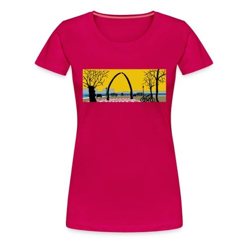 Vegesack Utkiek - Frauen Premium T-Shirt