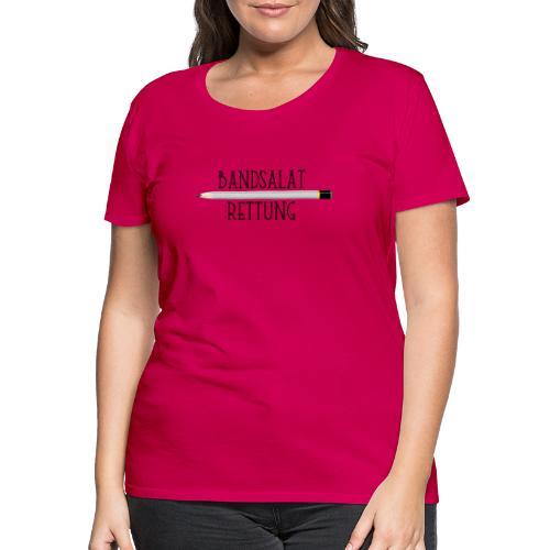 Bleistift Bandsalat Rettung 1 - Frauen Premium T-Shirt