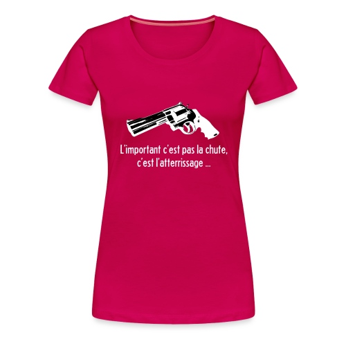 Sweat Shirt à capuche La Haine - Women's Premium T-Shirt
