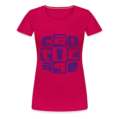 logo giallverd - Maglietta Premium da donna