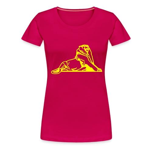Lion de Belfort noir - T-shirt Premium Femme