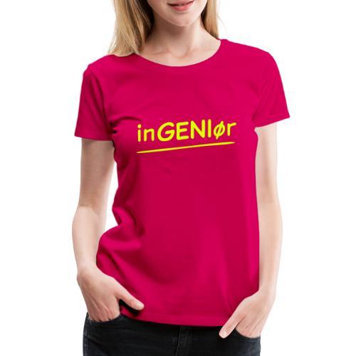 inGENIør - Premium T-skjorte for kvinner