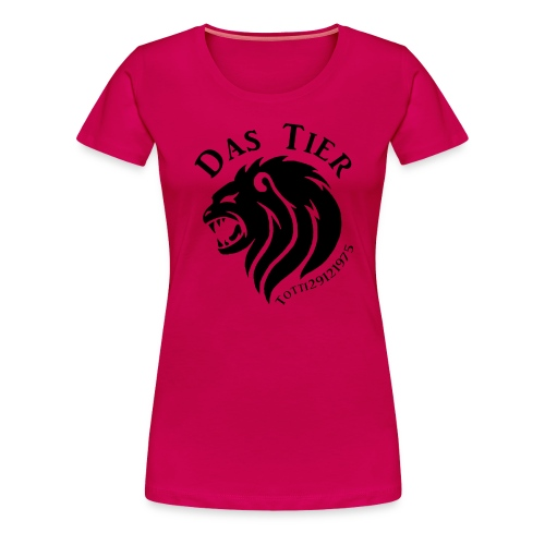 Das Tier - Frauen Premium T-Shirt