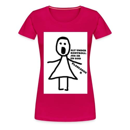planlegger2 jpg - Premium T-skjorte for kvinner