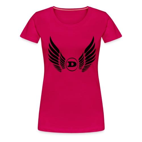d logo neu - Frauen Premium T-Shirt
