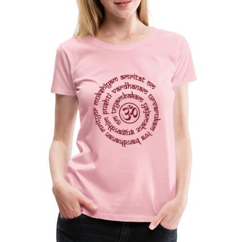 Tryambakam Mantra das Mantra zur Befreiung - Frauen Premium T-Shirt