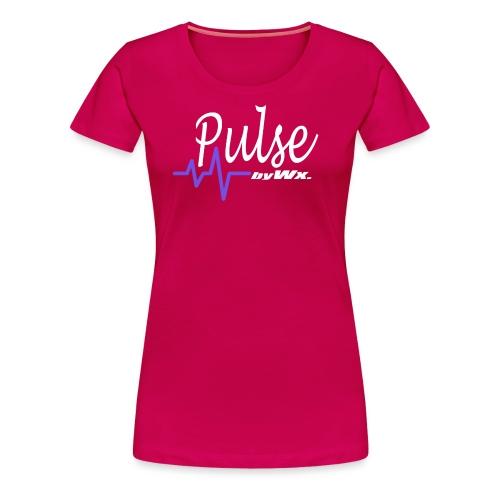 PULSE WHITE Signature - T-shirt Premium Femme