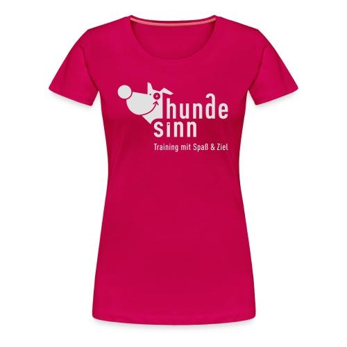 HundeSinn invertiert R - Frauen Premium T-Shirt