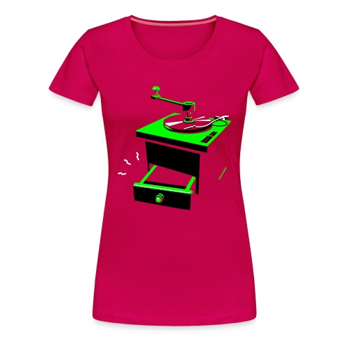 Grain de Vinyl - T-shirt Premium Femme