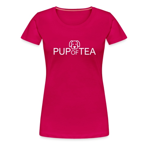 Pup of Tea - Women's Premium T-Shirt