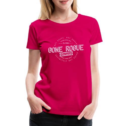 Rogue vintage2 png - Premium T-skjorte for kvinner