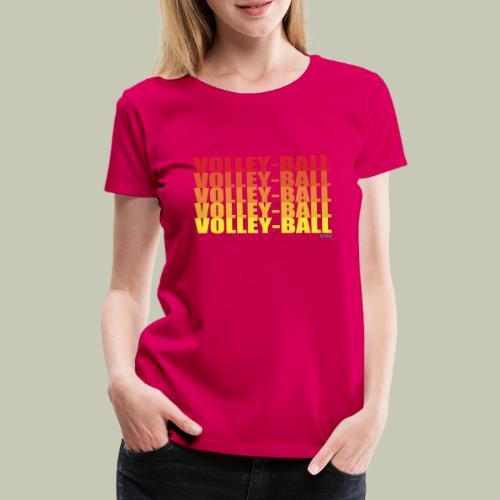 Logo Volley Ball - T-shirt Premium Femme