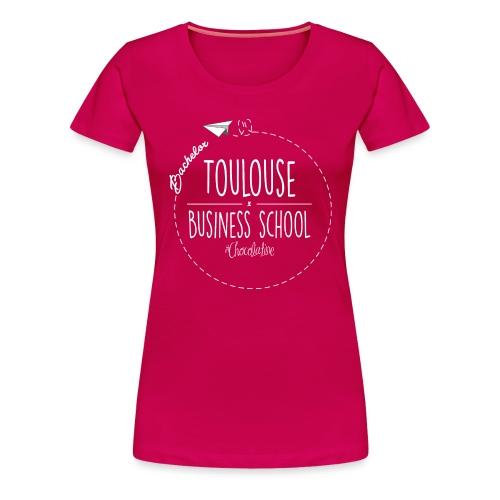logoblanc png - Women's Premium T-Shirt