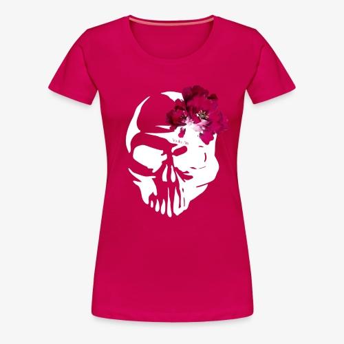 Skull Flower - Camiseta premium mujer