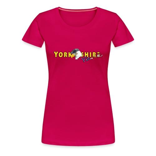 Yorkshire Yank Banner - Women's Premium T-Shirt