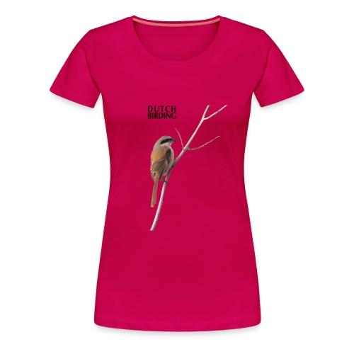 langstaartklauwier 2 - Vrouwen Premium T-shirt