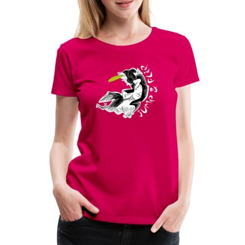 Jump Flip - Black - Women's Premium T-Shirt