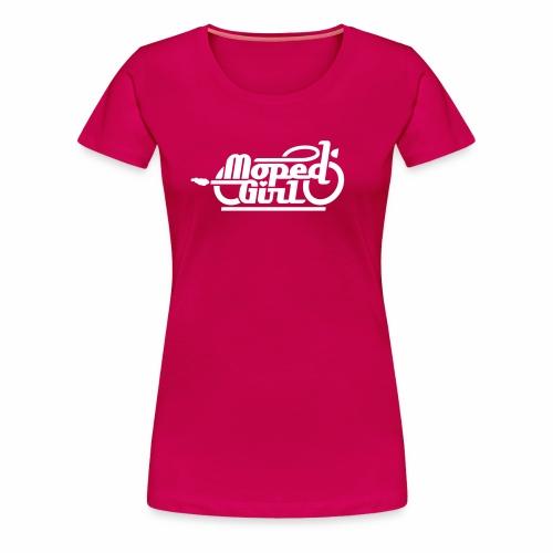 Moped Girl / Mopedgirl (V1) - Women's Premium T-Shirt