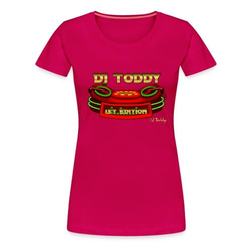 DJ TODDY 1st EDITION (Rot) Limitierte Edition - Frauen Premium T-Shirt