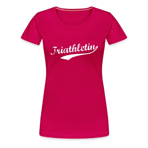 Triathletin - Frauen Premium T-Shirt
