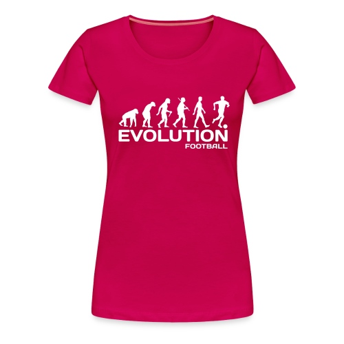 evolution football - Women's Premium T-Shirt