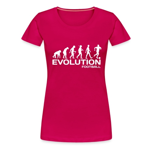 evolution football - Women's Premium T-Shirt