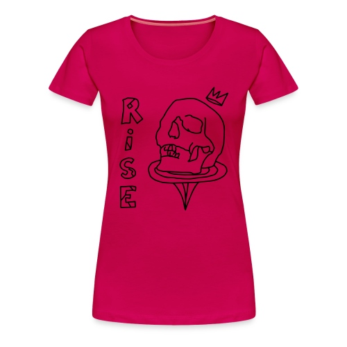 new line - Vrouwen Premium T-shirt