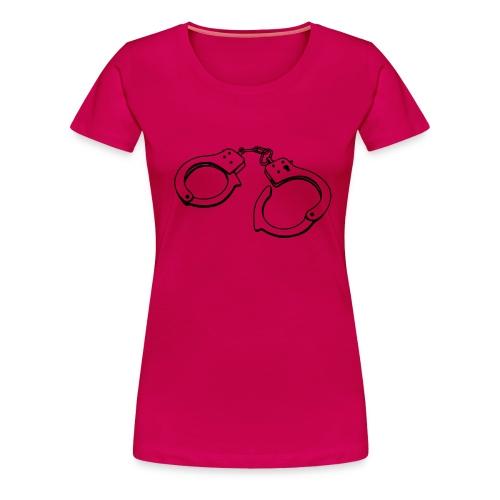 Handboeien - Vrouwen Premium T-shirt