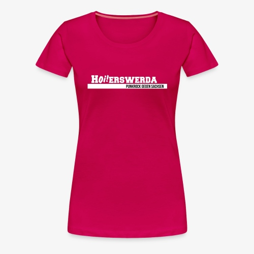 Logo Hoierswerda transparent - Frauen Premium T-Shirt