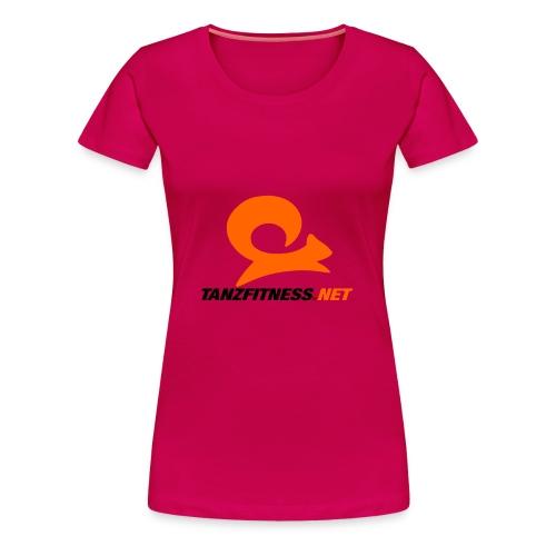 Tanzfitness.net Logo - Frauen Premium T-Shirt