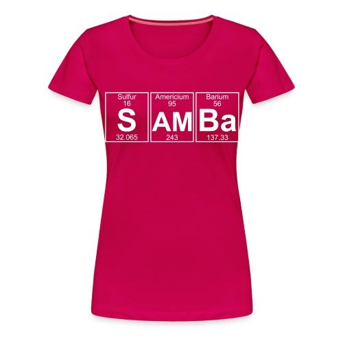 S-Am-Ba (samba) - Full - Women's Premium T-Shirt