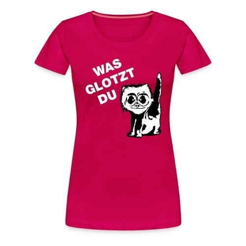 glotzt - Frauen Premium T-Shirt