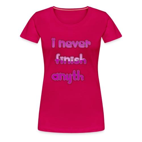 finish - Women's Premium T-Shirt
