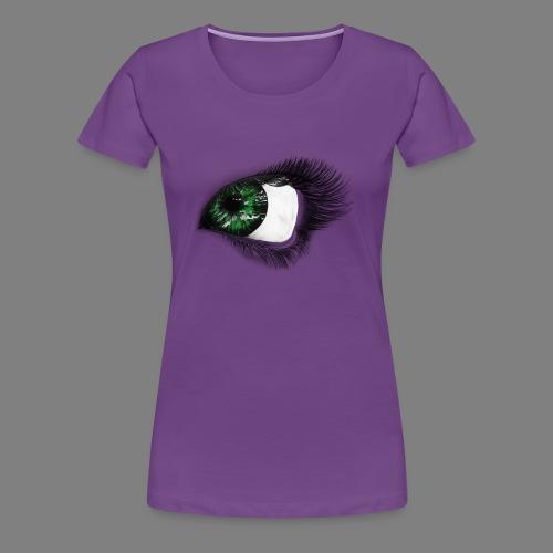 Auge 1 - Frauen Premium T-Shirt