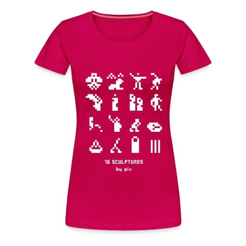 16 sculptures - T-shirt Premium Femme