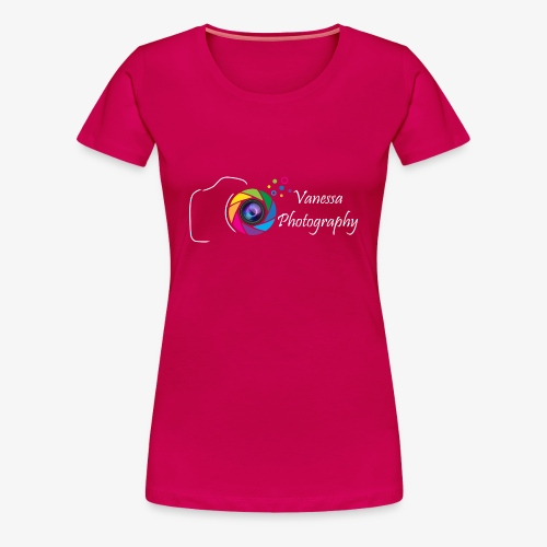 Vanessa Photography Color White - T-shirt Premium Femme