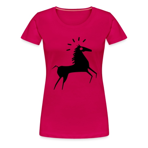 cheval - T-shirt Premium Femme